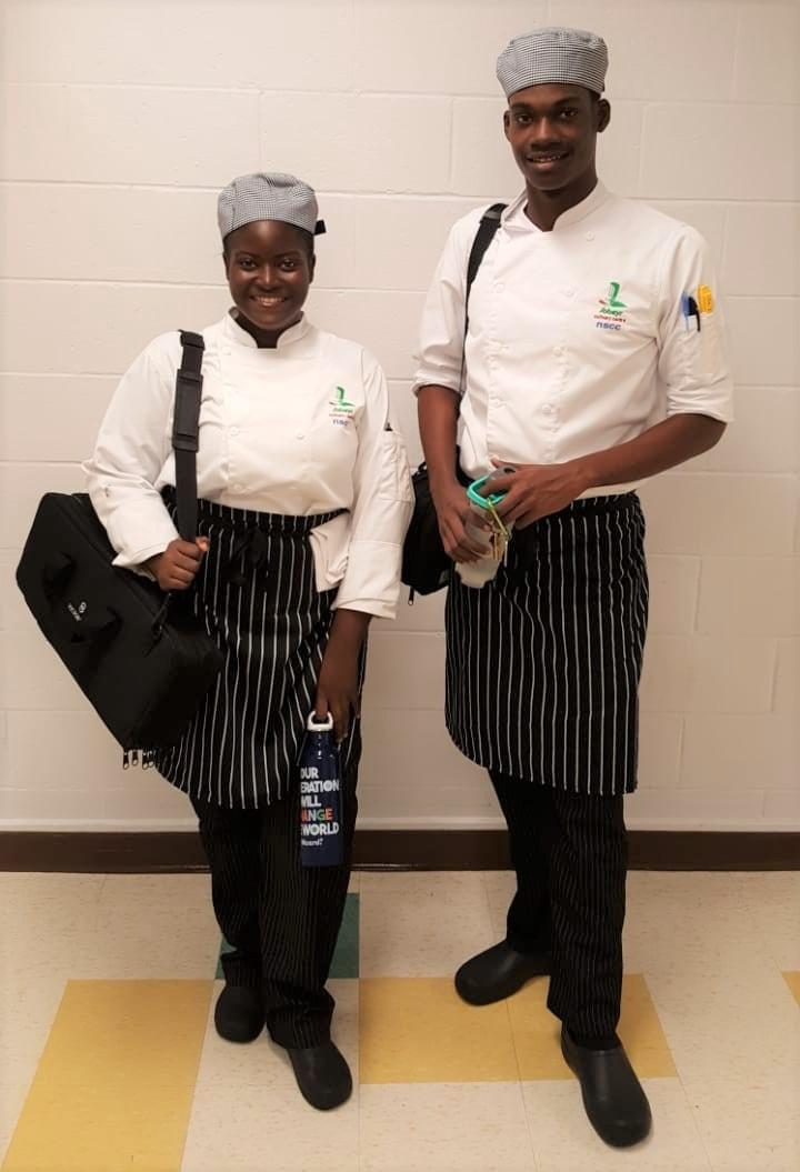 Svgcc Svg Community College Students Pursuing Culinary Arts